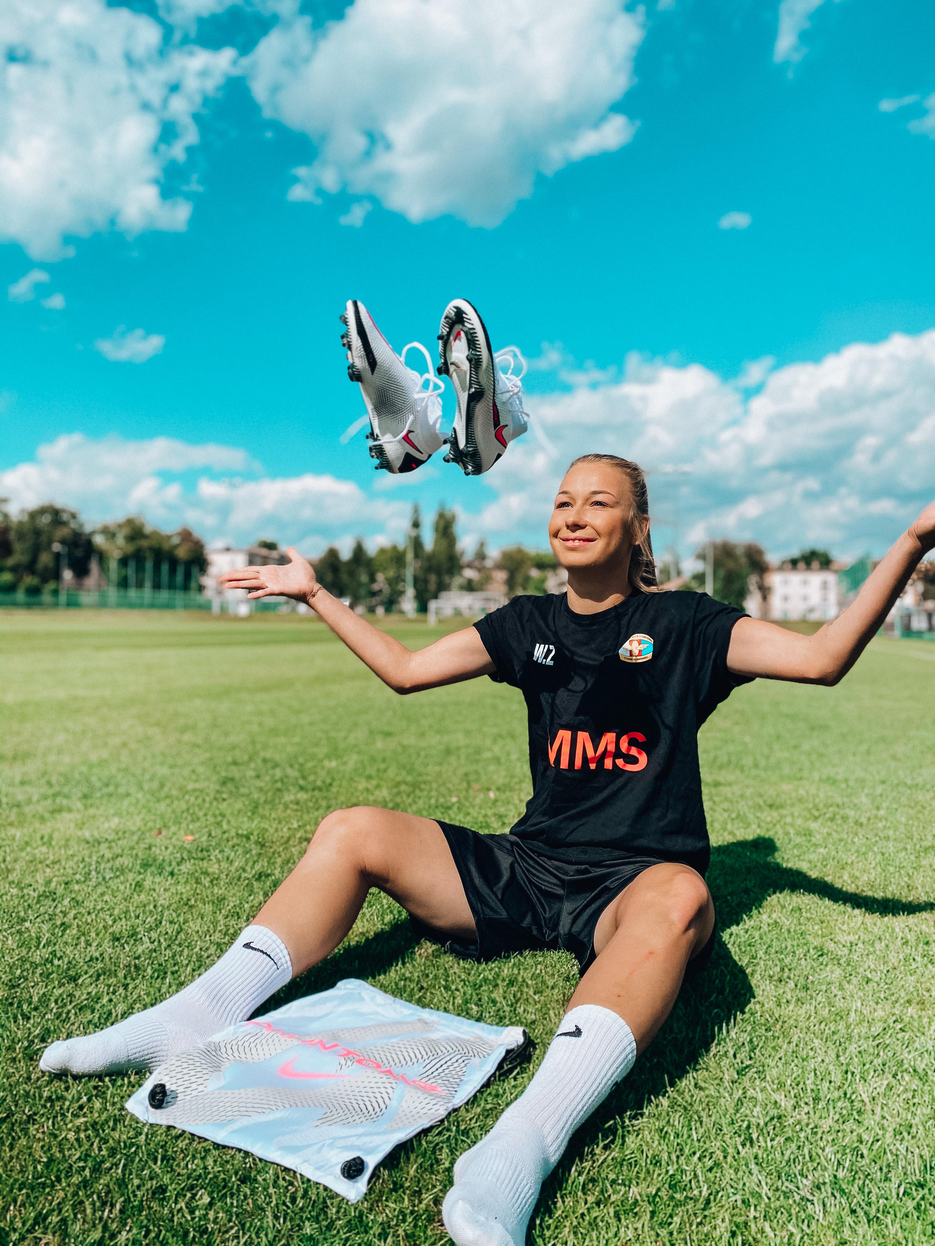 Polska piłkarka Weronika Zawistowska współpracuje z agencją marketingu sportowego JW Promotion